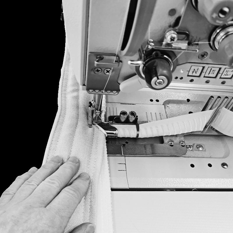 bordatura guscio cover materasso